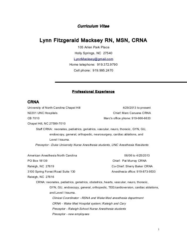 crna resume - Vatozatozdevelopment - crna resume examples