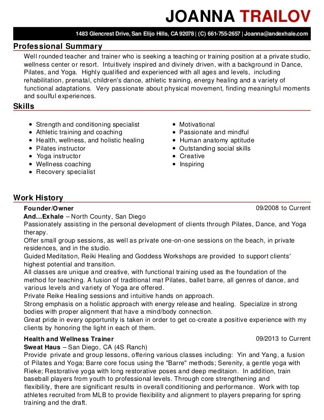 professional summary cv - Intoanysearch