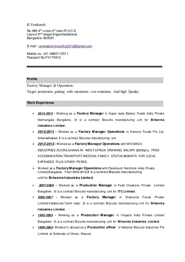 traffic production manager resume