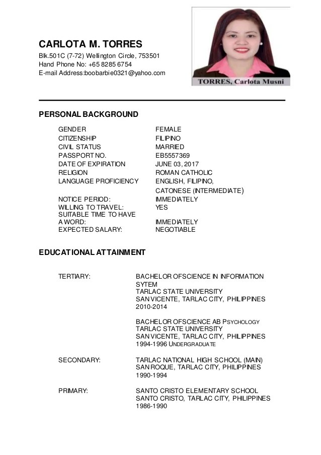 updating a resumes - Onwebioinnovate - updating resume