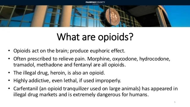 Tramadol For Humans Heroin And Opioids Update: A Community Public Health And