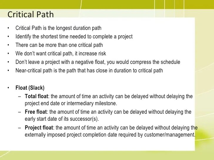project critical path template - Funfpandroid