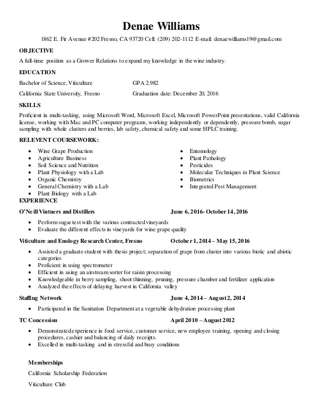 Plant Pathologist Sample Resume cvfreepro - plant pathologist sample resume