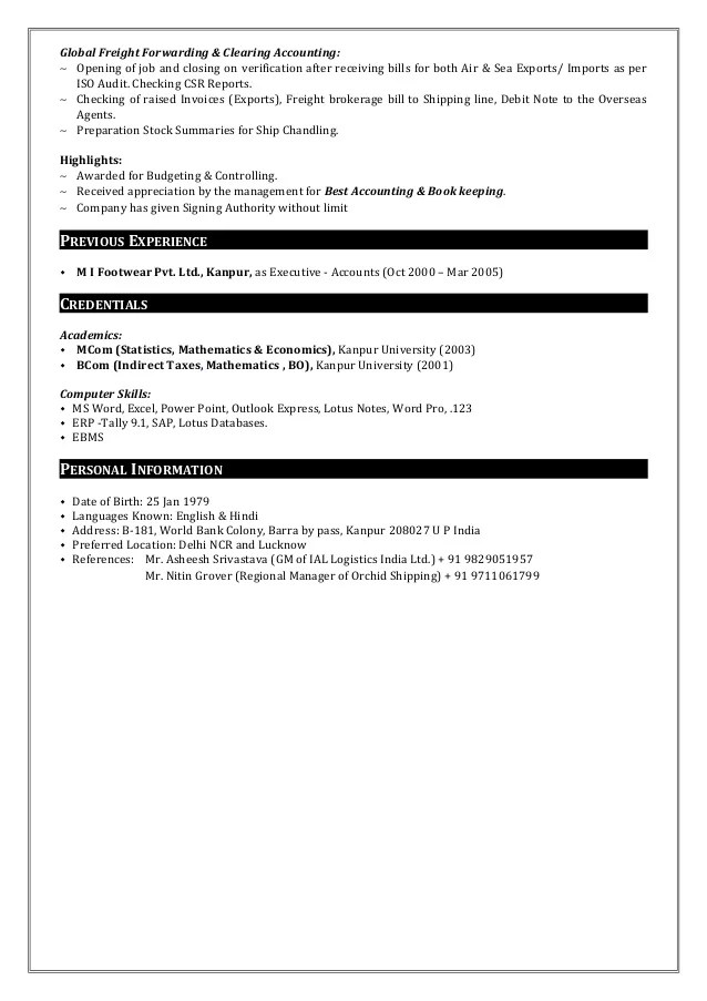 freight forwarder resume samples - Intoanysearch - freight broker sample resume