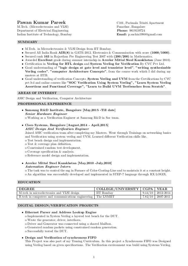 resume document size