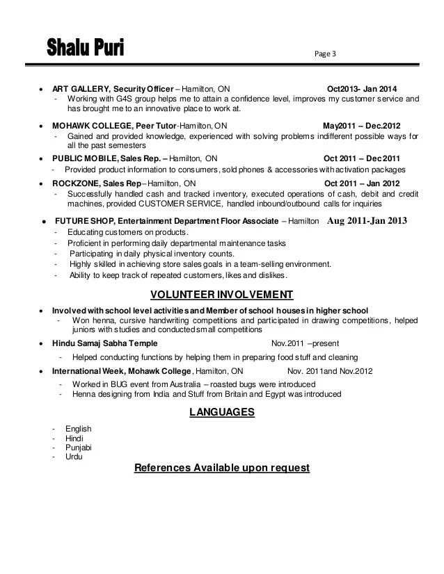 kitchener resume services