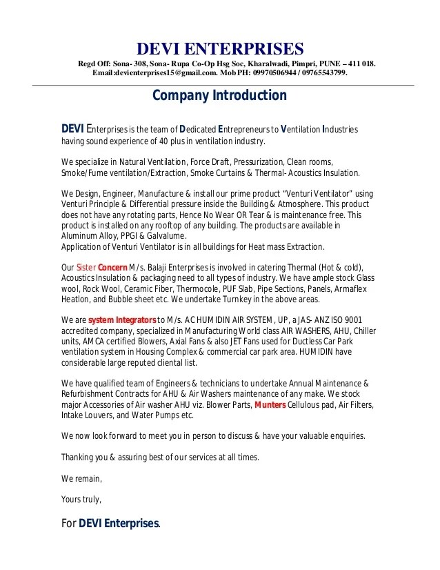 Event Catering Proposal Template Get Free Sample 1devi Company Profile Letter