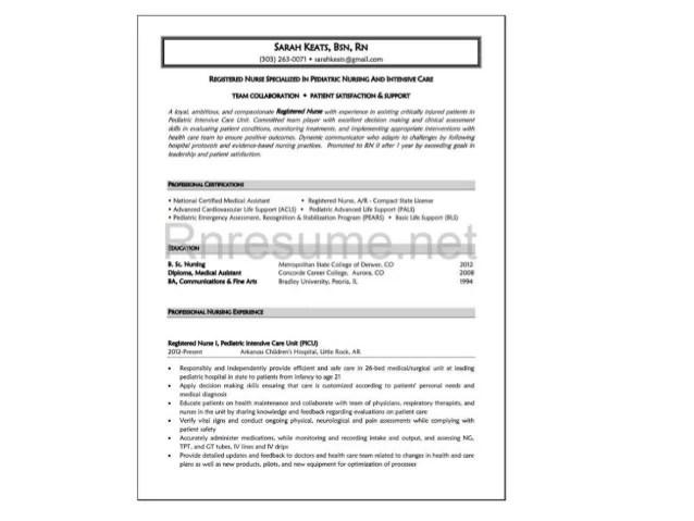 new grad nurse resume - Josemulinohouse - sample resume for new graduate nurse