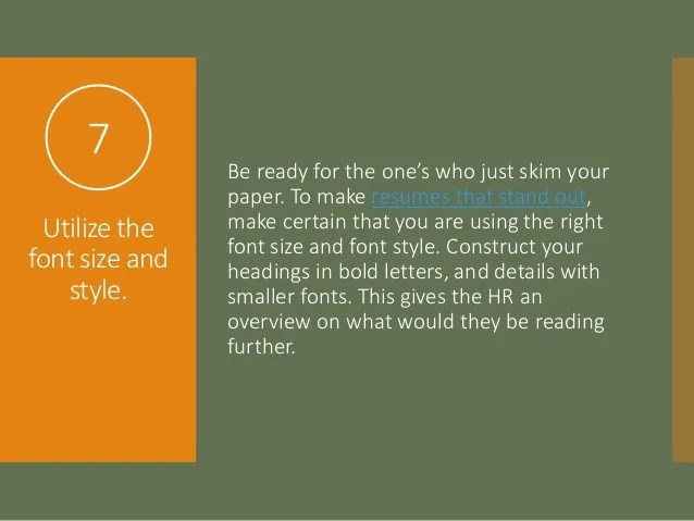 Best Font Style In Resume. cover letter good resume fonts best ...