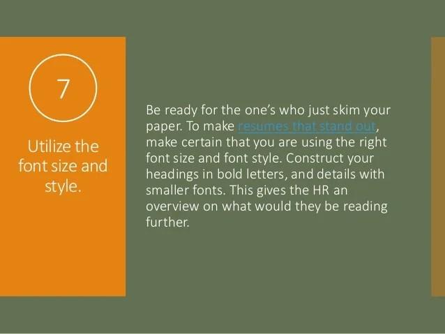 proper resume format font size free downloadable resume templates - Free Resume Fonts