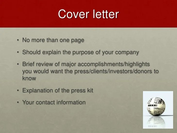 Awesome ... Press Kit Cover Letter Mfawriting811web. SaveEnlarge