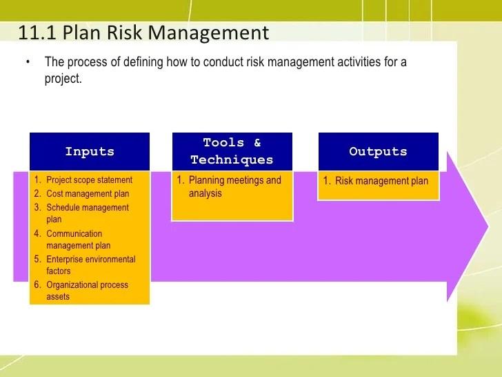 risk management plan - Onwebioinnovate - risk plan