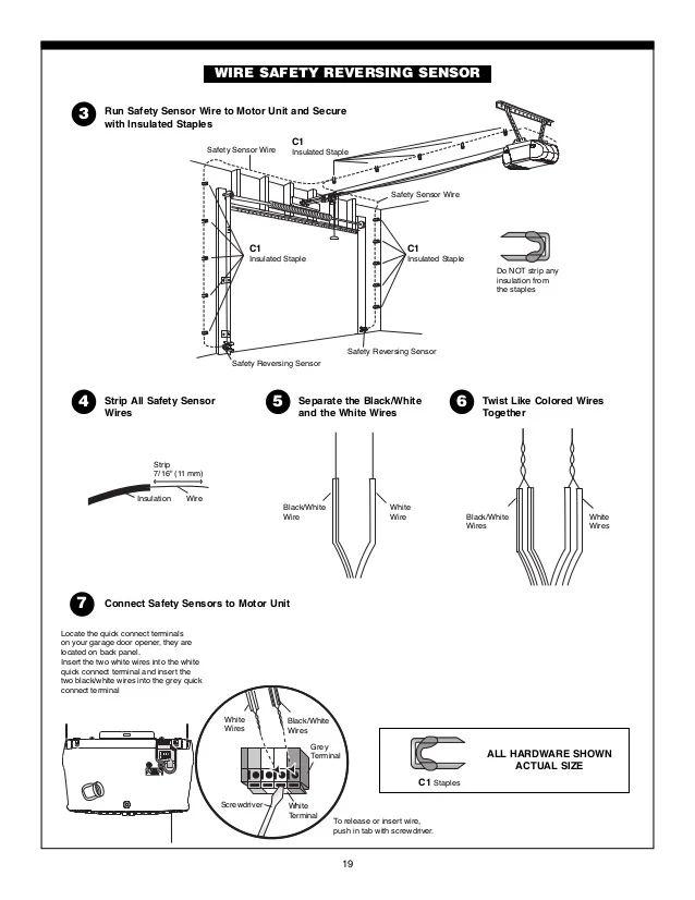 genie garage door opener manuals