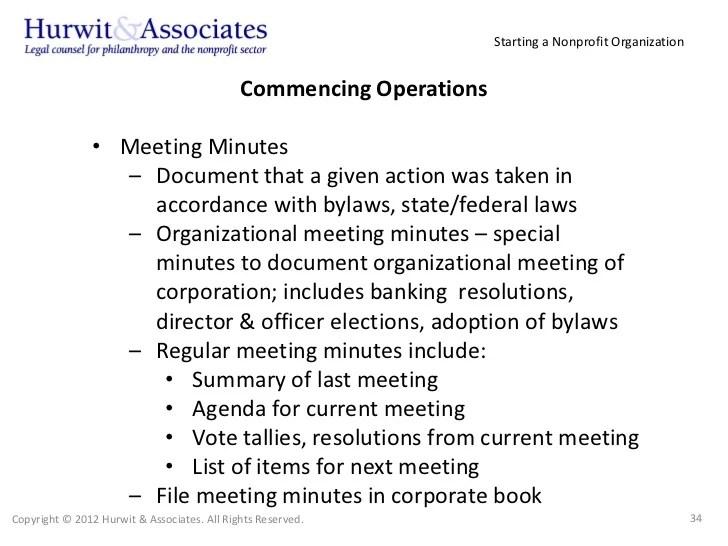 non profit meeting minutes template - Goalgoodwinmetals