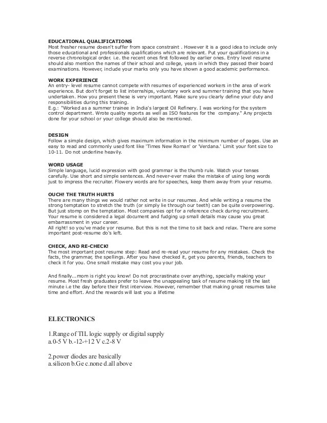 how to make great resumes - Alannoscrapleftbehind
