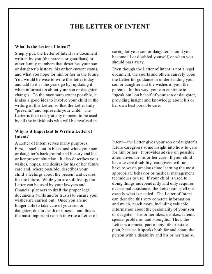 letters of intent samples - Vatozatozdevelopment