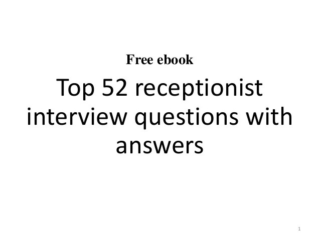 hotel interview questions and answers interview questions and ...