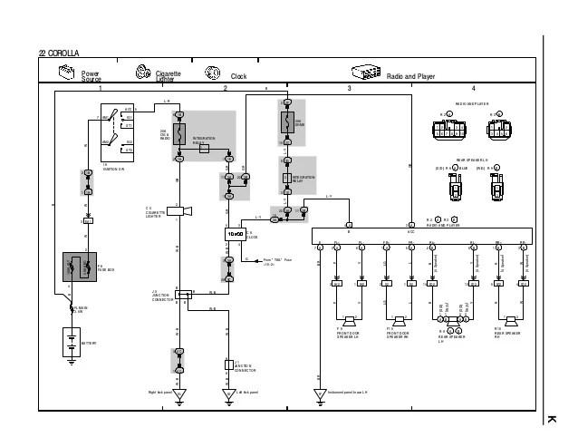 toyota corolla 1996 radio wiring diagram