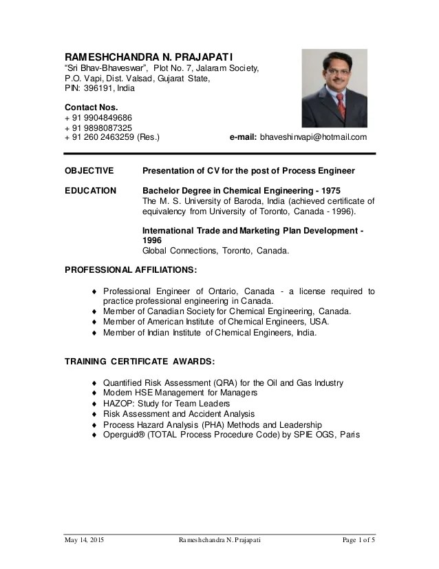 production engineer resume sample doc