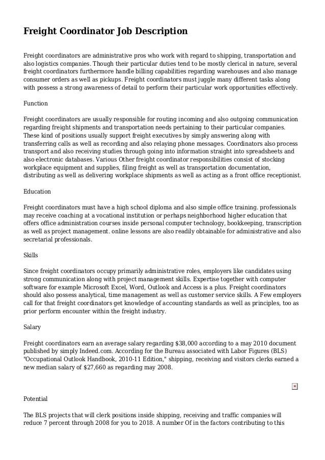 job description for shipping and receiving - Akbagreenw - logistics clerk job description