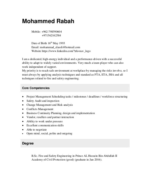 fire safety engineer resume - Maggilocustdesign - nuclear safety engineer sample resume