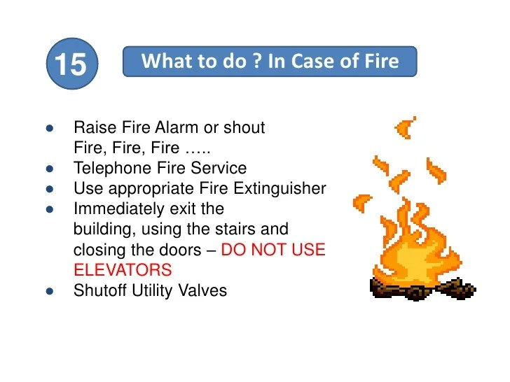 15 Tips For Home Fire Safety