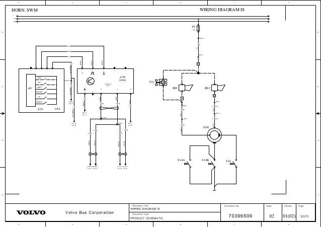 volvo bus b12 wiring diagram
