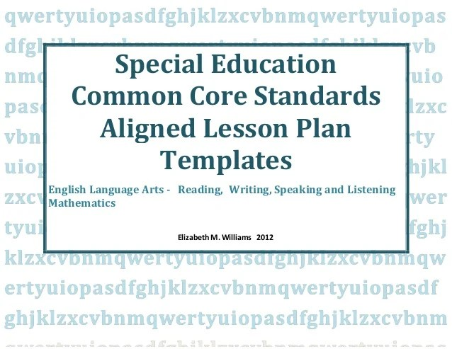 special education lesson plan template - Josemulinohouse - sample simple lesson plan template