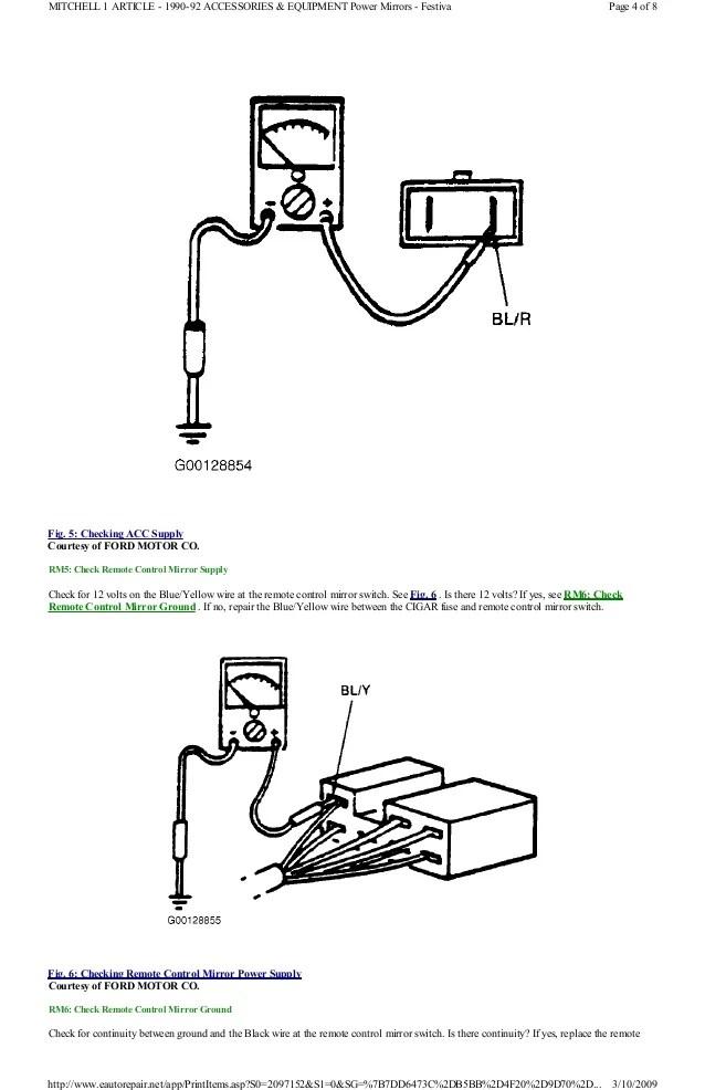 96 ford aspire wiring diagram