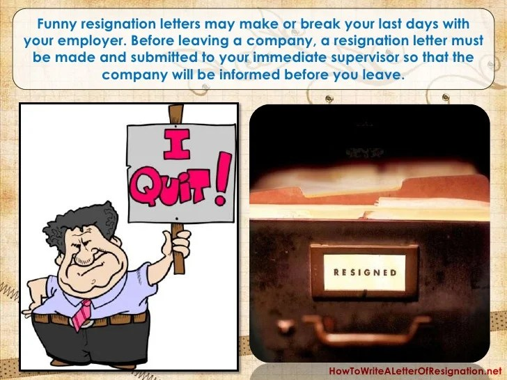 resignation letter in it company