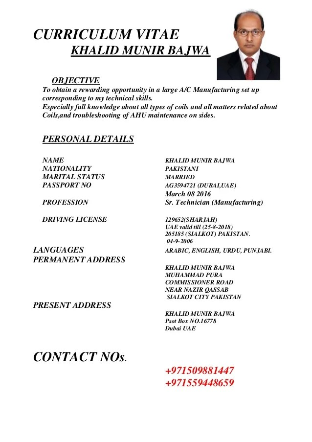 bld resume cv