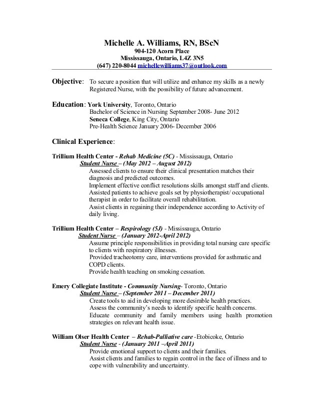 Nursing Resume Tips And Samples To Nuture Your Career Mchelle Nursing Resume Update Rn Clean Copy
