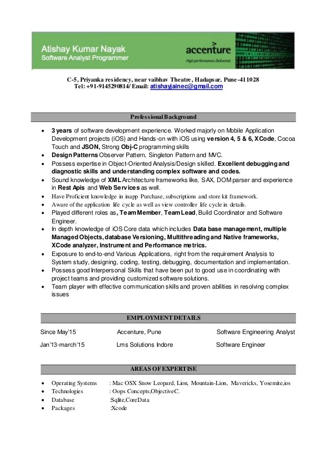 resume accent or not