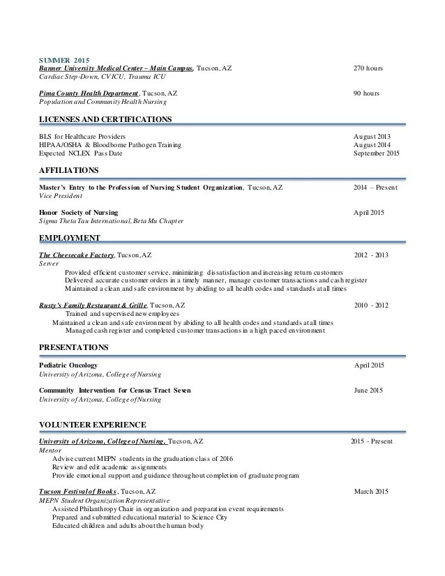 Amazing Resume Creator Nursing Resume
