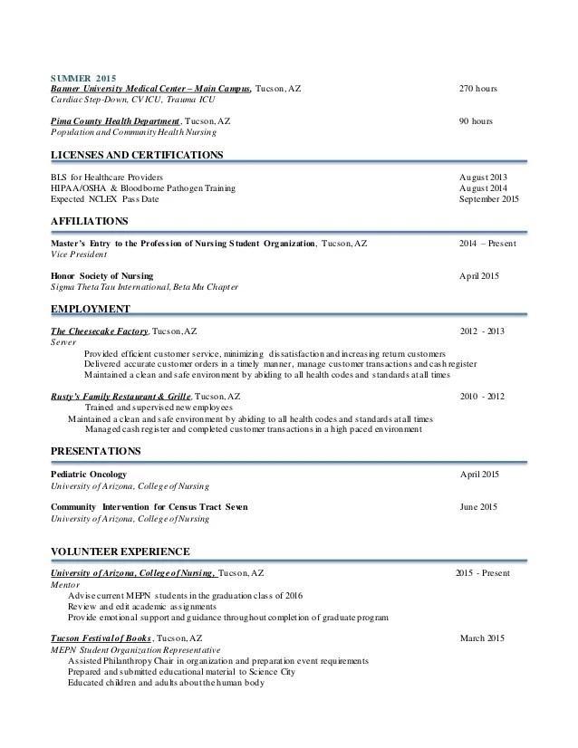 Free Sample Resume Template Cover Letter And Resume Nursing Resume