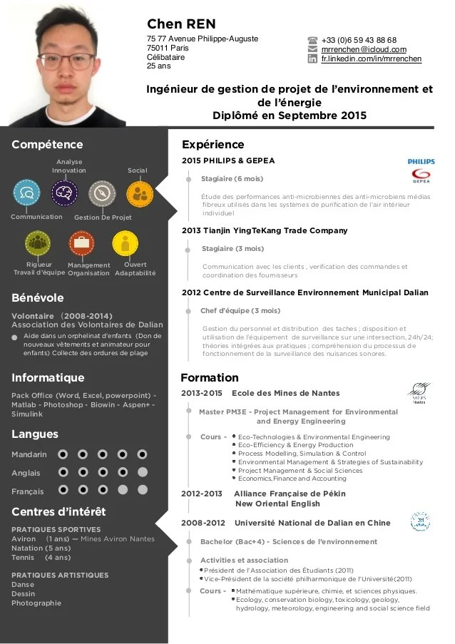 competence informatique mail cv