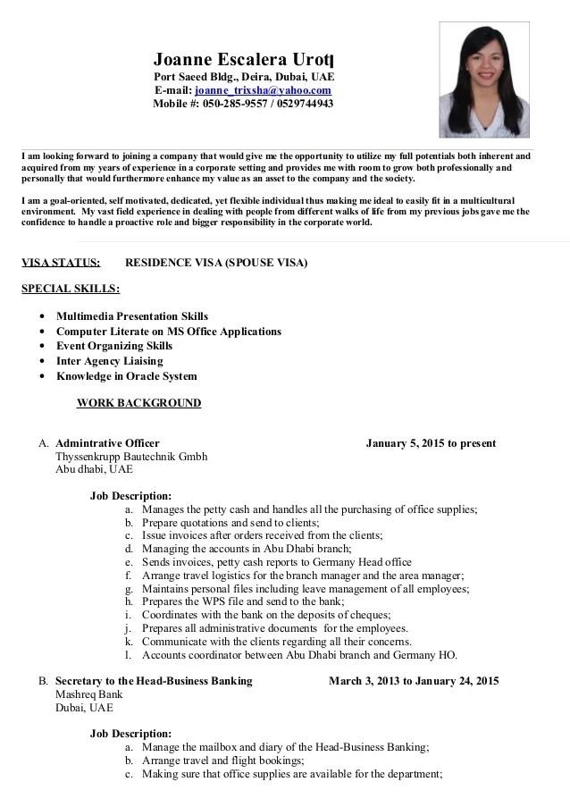 Insurance Resume Format Download Resume Objective Insurance Free Resume Template Joanne Escalera Cv