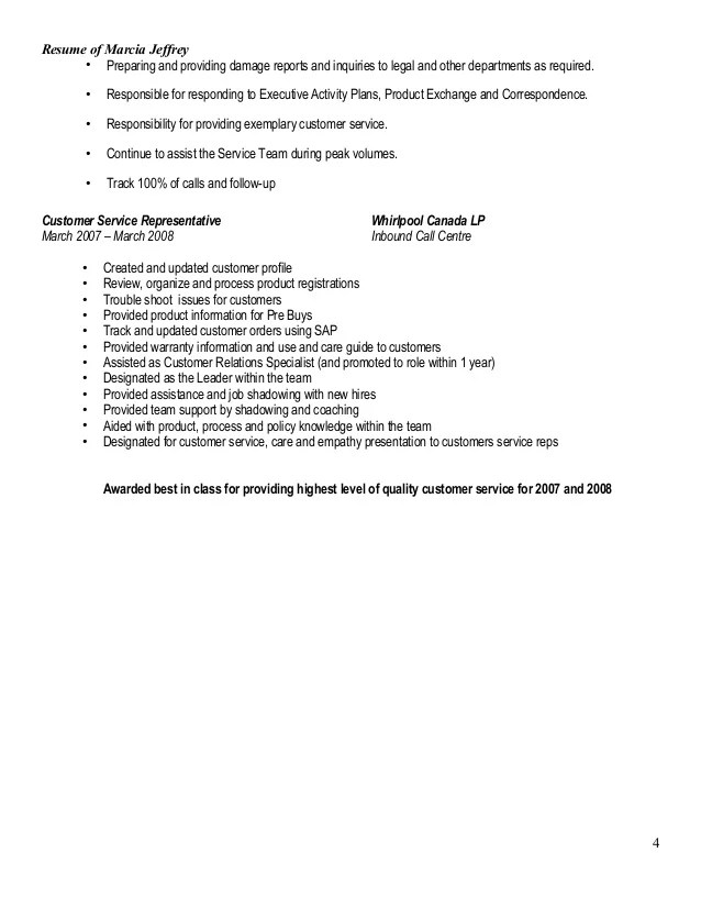 resume review whirlpool