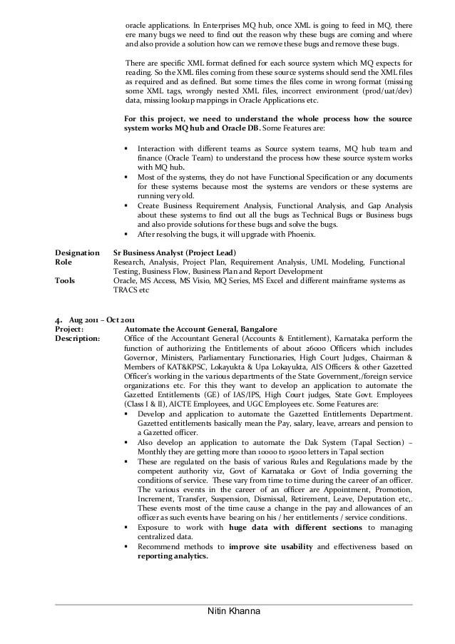 oracle business analyst resumes - Boatjeremyeaton