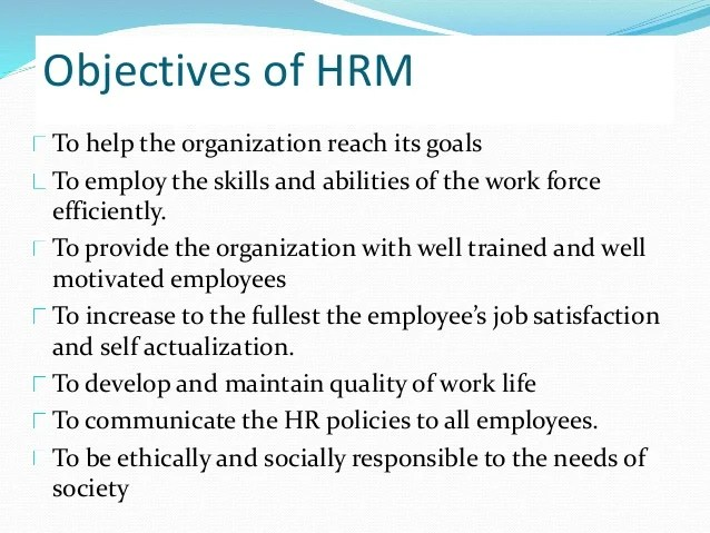 Hr Objectives For Resume hr resume objectives hr resume template