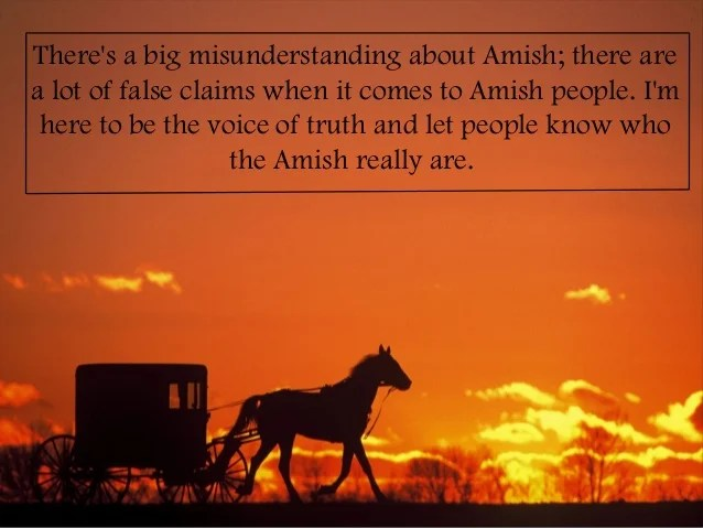 Truth About Amish