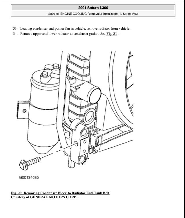 toyota 1n cooling system diagram