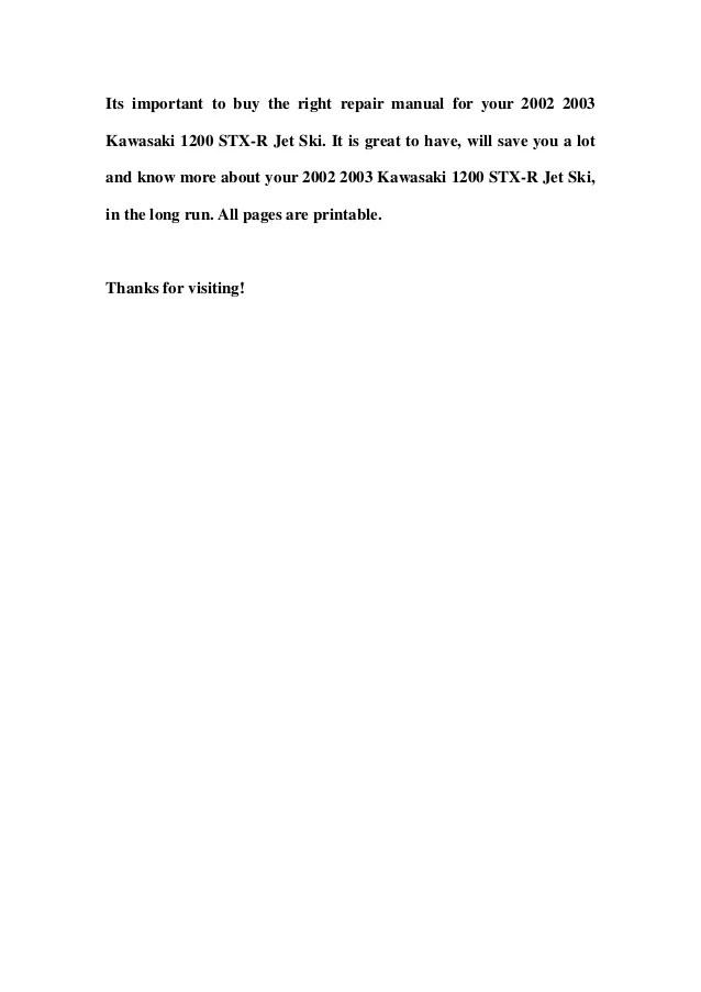 kawasaki jet ski service manual download