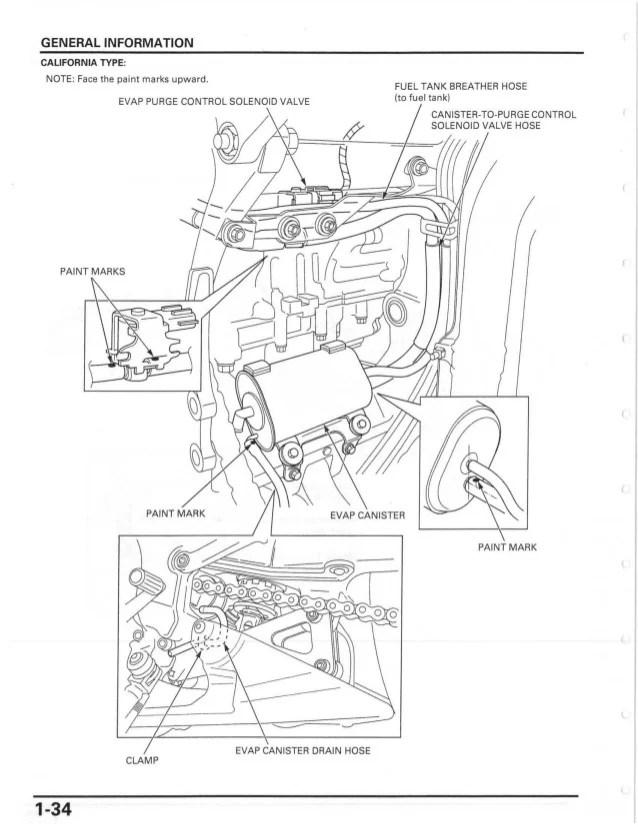 honda cbr engine diagram