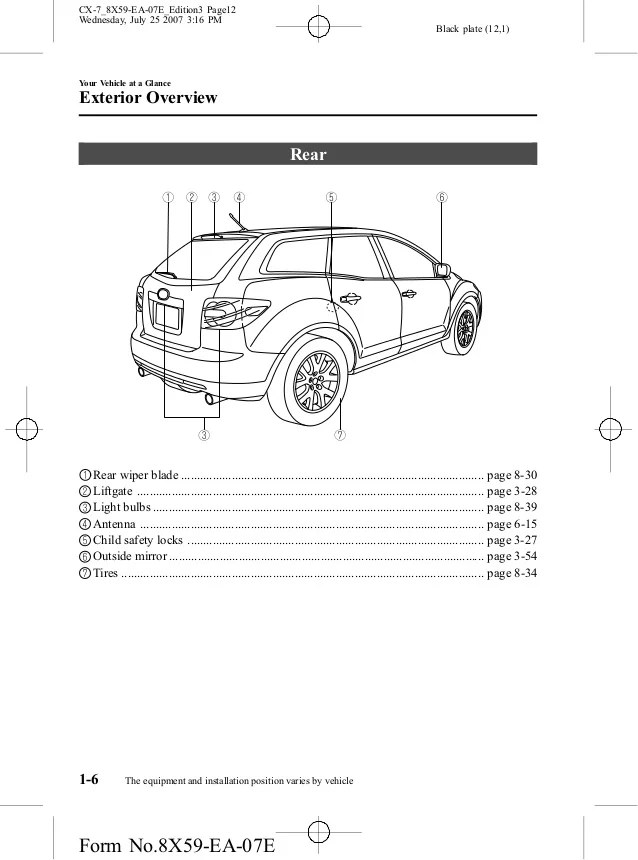 cx 7 stereo wiring diagram