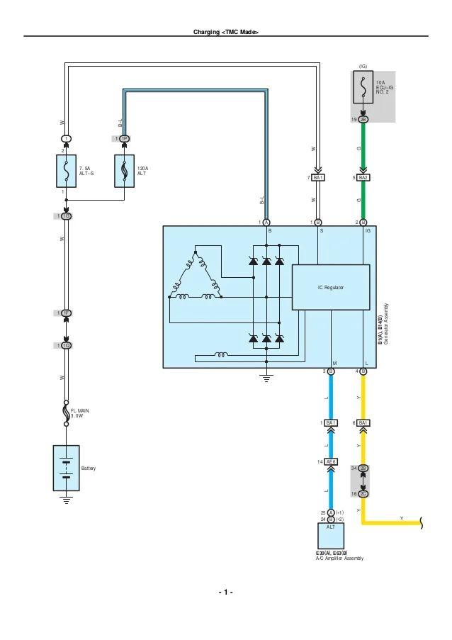 2001 Toyota Corolla Wiring Diagrams Auto Electrical Wiring Diagram