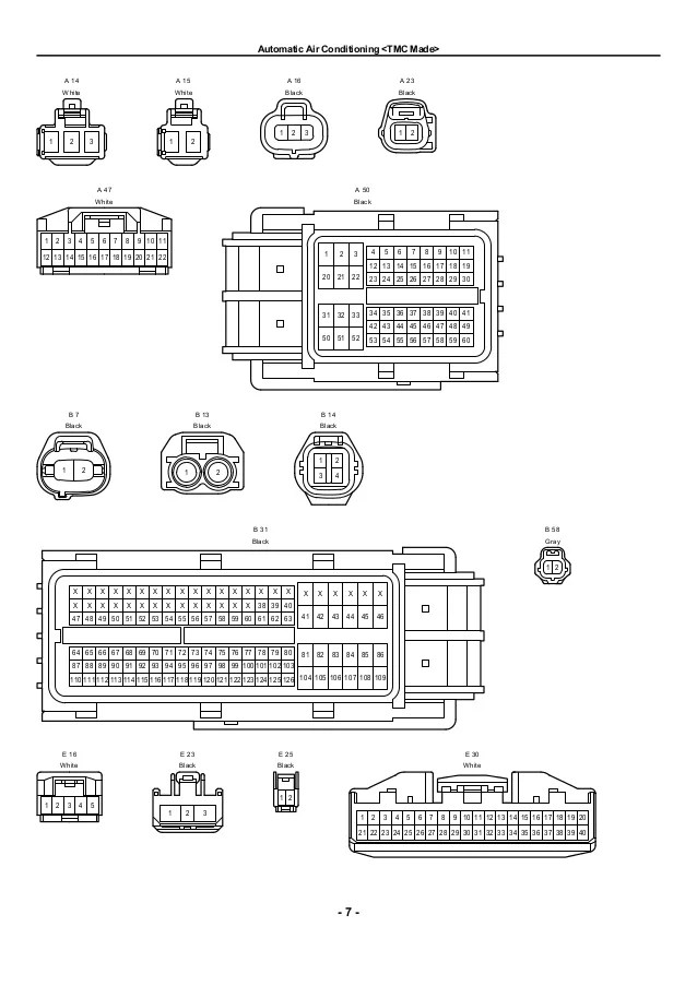1994 toyota camry radio wiring diagram schematic