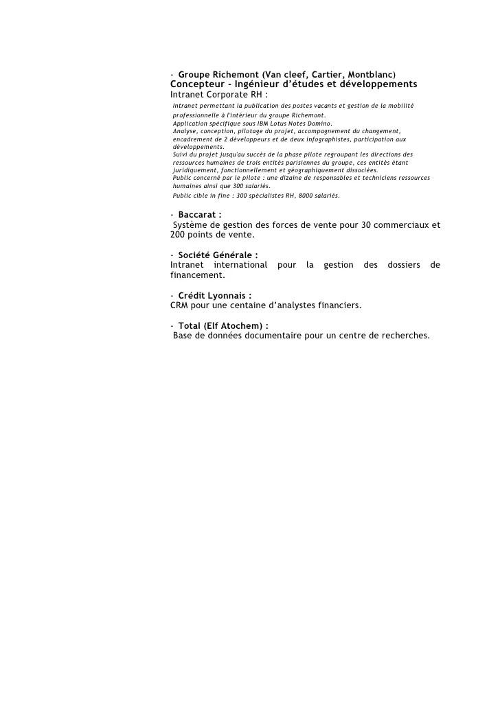 cv concepteur module formation