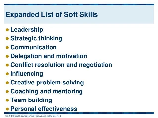 list of soft skills - Funfpandroid