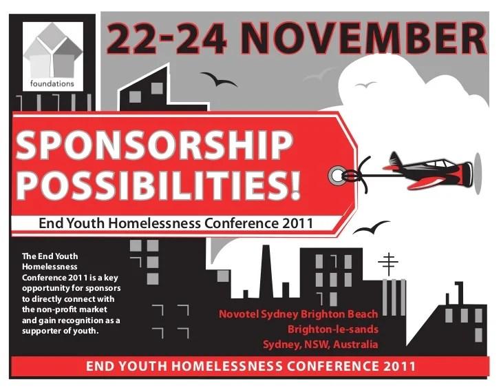 Sponsorship Package Proposal Sample Template 2011 Conference Sponsorship Proposal2